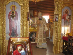 Освящение престола Свято-Троицкого храма г. Доброполья