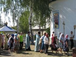 Престольный праздник Свято-Успенского храма с. Доброполье