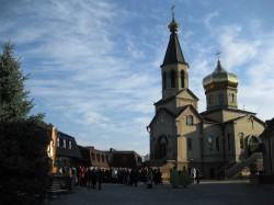 Престольный праздник в Свято-Сергиевском женском монастыре с. Сергеевка