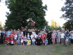 8 июля в День святых Петра и Февронии в г. Доброполье была проведена православная спартакиада