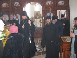 Архирейское Богослужение в Покровском храме г. Доброполья в праздник Собора Пресвятой Богородицы