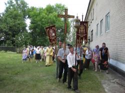 Свято-Амвросиевский храм г. Доброполья отметил свой летний престольный праздник