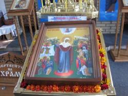 Добропольчане отметили престольный праздник храма в честь иконы Божией Матери «Всех скорбящих радость».