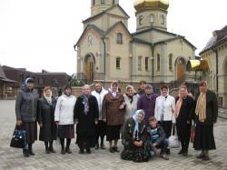В день памяти прп. Сергия Радонежского паломники Доброполья посетили Свято-Сергиевский монастырь