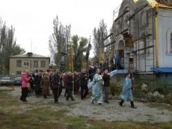 14 октября Свято-Покровский храм г. Доброполья отметил свой престольный праздник
