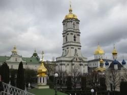 Святые места Украины.Почаев.