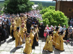 Всехсвятский скит Святогорской Лавры отметил свой второй престольный праздник