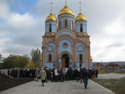 Покровский храм г. Доброполья отметил свой престольный праздник