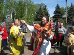 Свято-Георгиевский храм с. Анновка отметил свой первый престольный праздник