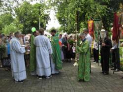 Свято-Троицкий храм г.Доброполья отметил свой престольный праздник.