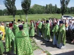 Архирейское Богослужение в престольный праздник храма прп.Амвросия Оптинского г. Доброполья.