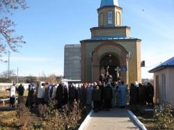 Престольный праздник храма г. Доброполья в честь иконы