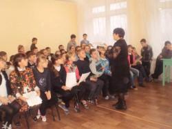 Дорогой добра. Кружок христианской этики УВК № 4 г. Доброполья проводил цикл духовных бесед в приюте и школах города