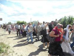 Добропольчане приняли участие во Всеукраинском крестном ходе