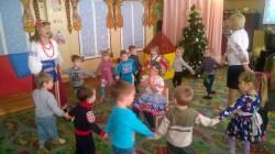 Три празники були в гостях у дитсадку